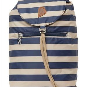 NEW INVICTA HERITAGE BACKPACK IN BLUE/WHITE